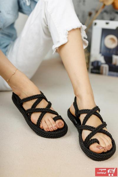 خرید صندل خفن برند meyranın ayakkabıları رنگ مشکی کد ty40773280