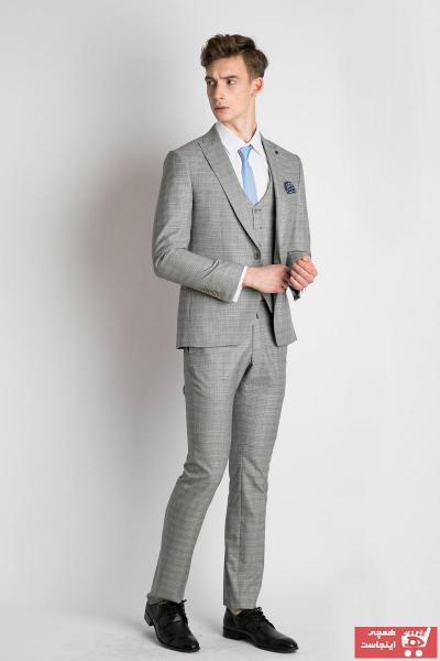 کت شلوار مردانه اسپرت جدید برند EL FARO رنگ مشکی کد ty41175080