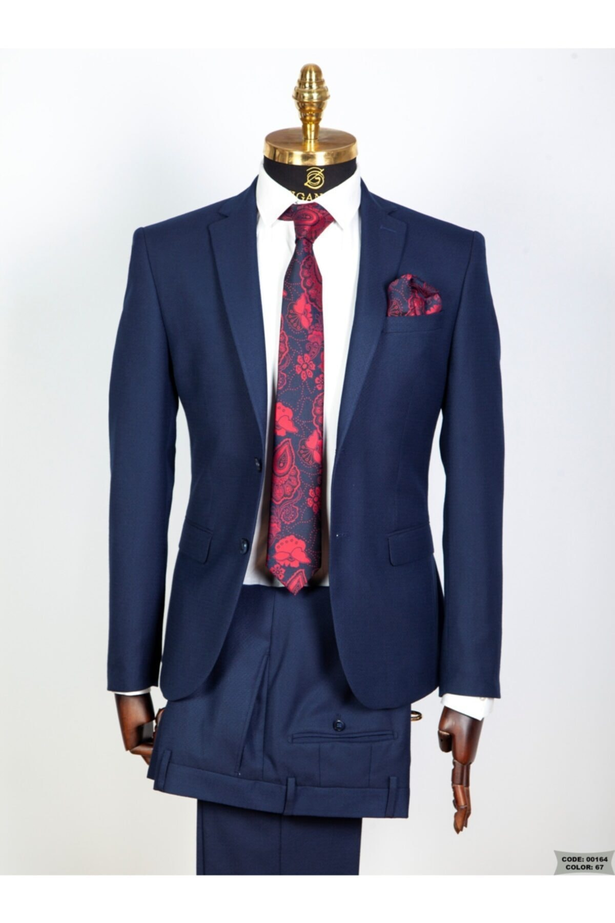 فروش نقدی کت شلوار مردانه خاص برند ZIGANALI رنگ لاجوردی کد ty41276975