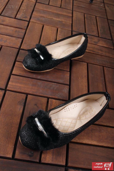 سفارش اینترنتی کفش تخت فانتزی برند اکسید رنگ مشکی کد ty41500031