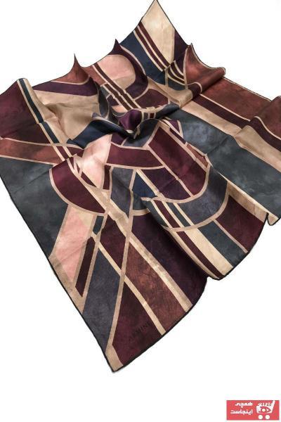 خرید پستی روسری زنانه پارچه  برند Armine رنگ بنفش کد ty42128149
