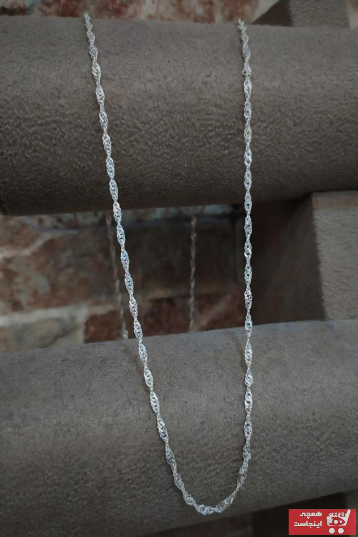 گردنبند مردانه قیمت برند Erer Gümüş رنگ نقره کد ty42461609
