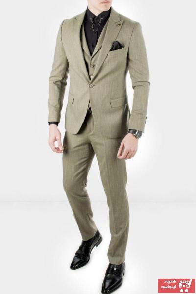 فروشگاه کت شلوار مردانه برند دیپسی رنگ سبز کد ty4281556