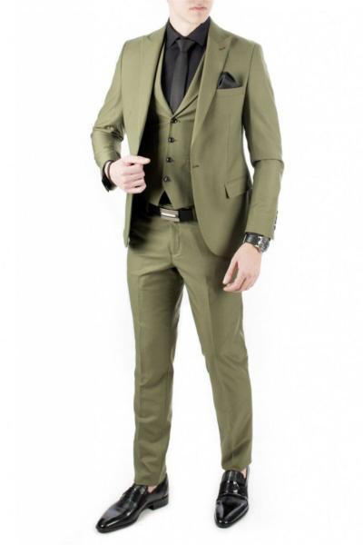 کت شلوار  برند دیپسی رنگ سبز کد ty4281607