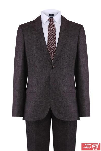 کت شلوار مردانه ارزان قیمت برند W Collection رنگ قرمز ty42943483