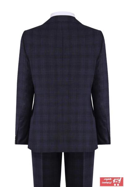 خرید اینترنتی کت شلوار اصل برند W Collection رنگ لاجوردی کد ty43119459