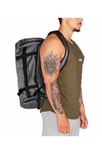کیف ورزشی مردانه حراجی برند MUSCLECLOTH رنگ نقره ای کد ty43165679