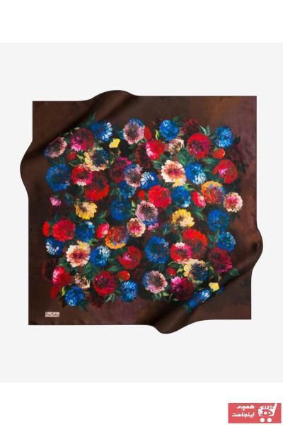روسری زنانه برند پیرکاردن رنگ قهوه ای کد ty43791388