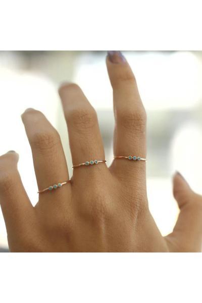خرید ارزان انگشتر طلا زنانه اسپرت برند ByGoldenHouse رنگ زرد ty43865843