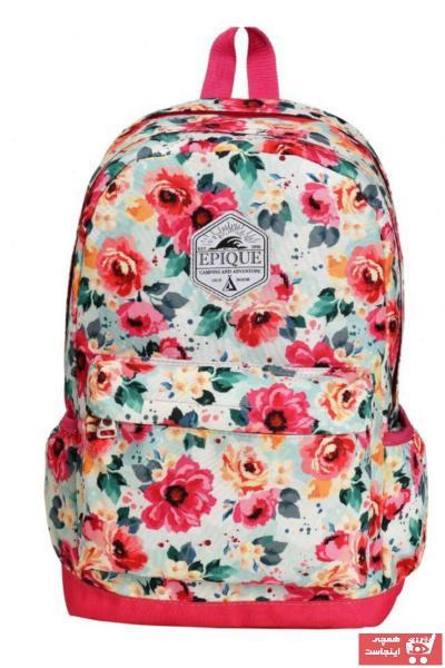 کیف مدرسه طرح دار برند Epique رنگ صورتی ty44065057