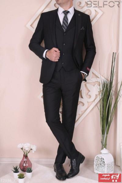 فروشگاه کت شلوار مردانه برند Vialli رنگ مشکی کد ty44257893