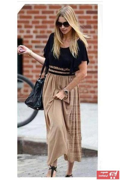 خرید پیراهن زنانه ترک جدید برند lovebox رنگ مشکی کد ty44436411