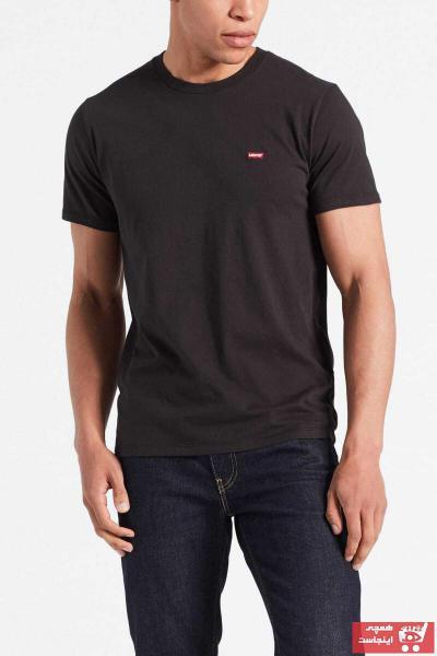 خرید تیشرت 2021 مردانه برند لیوایز رنگ مشکی کد ty4477671