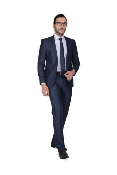 قیمت کت شلوار مردانه برند Buenza رنگ لاجوردی کد ty4626793