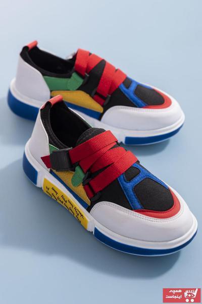 کفش اسپرت بلند مارک تونی بلک کد ty46440505