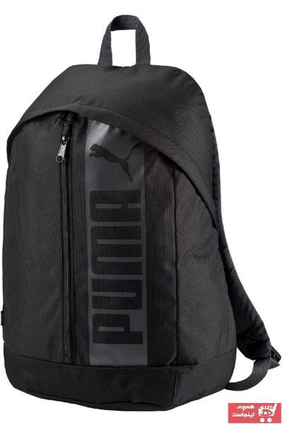 کوله پشتی مردانه ارزانی برند پوما رنگ مشکی کد ty46896557