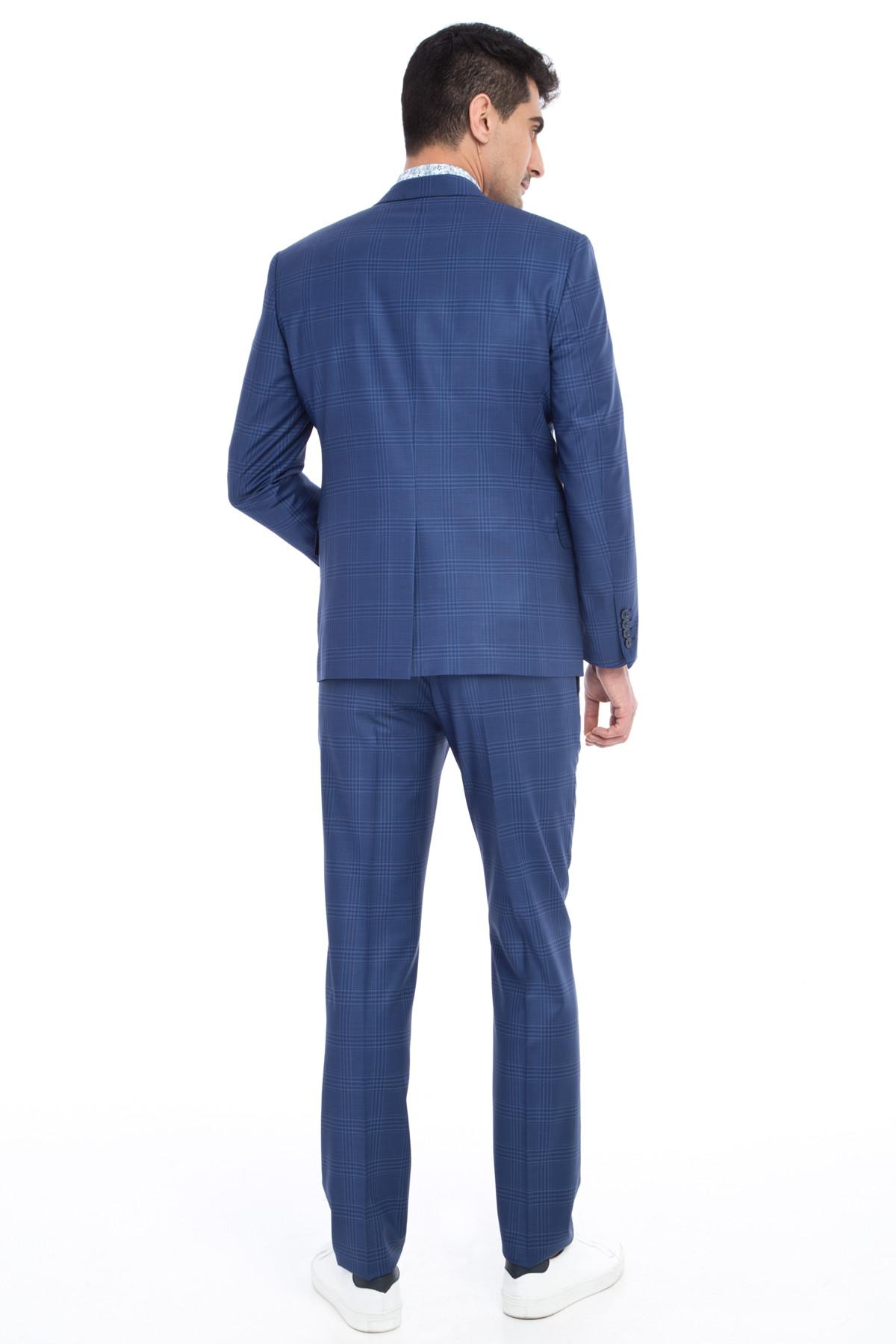 کت شلوار مردانه برند Kiğılı رنگ آبی کد ty4695085