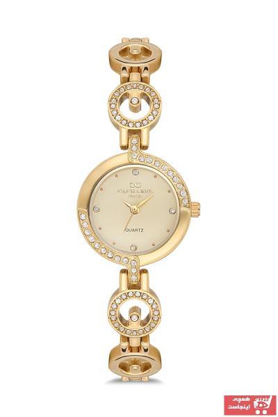 خرید انلاین ساعت زنانه برند Cacharel رنگ طلایی ty47104459