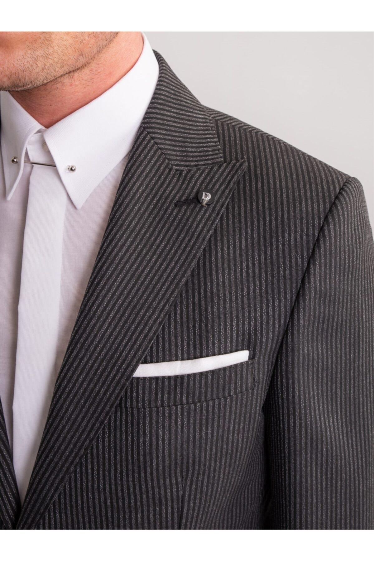 خرید نقدی کت شلوار مردانه فروشگاه اینترنتی برند Dufy رنگ مشکی کد ty47158030