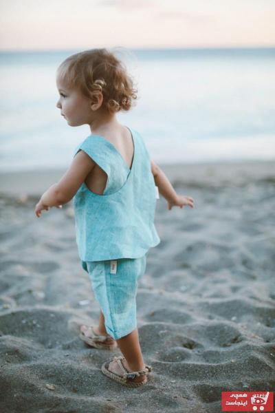 فروش بلوز نوزاد دخترانه شیک و جدید برند atelier feyy رنگ آبی کد ty47488939