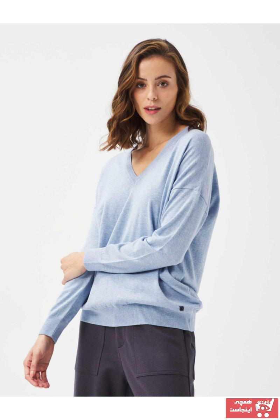 فروش پلیور زنانه فانتزی برند Xint رنگ آبی کد ty47937571