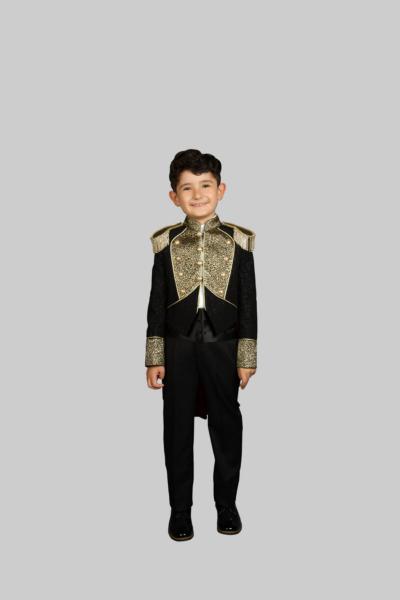 قیمت لباس خاص پسرانه برند Sinan çocuk رنگ مشکی کد ty48391101