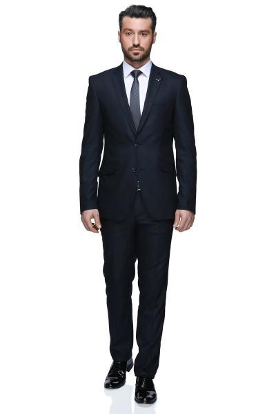 کت شلوار مردانه برند Buenza رنگ لاجوردی کد ty4903639