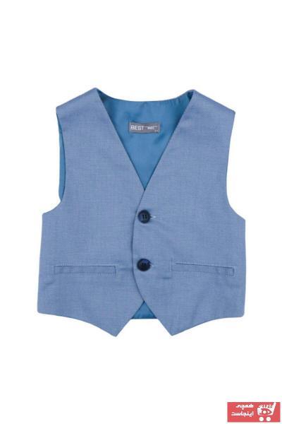 جلیقه پسرانه اسپرت جدید برند best kids رنگ آبی کد ty49730047