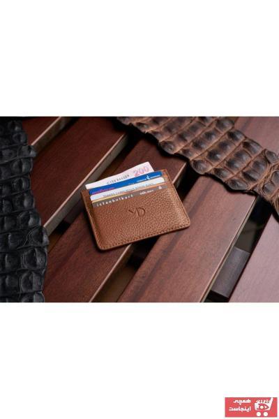 کیف کارت بانکی مردانه  ترکیه برند MODADERİDEN رنگ قهوه ای کد ty49732891