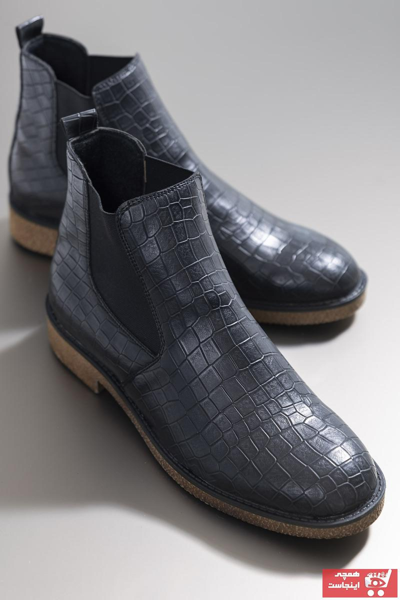 کفش بوت مردانه حراجی برند تونی بلک رنگ مشکی کد ty50077574