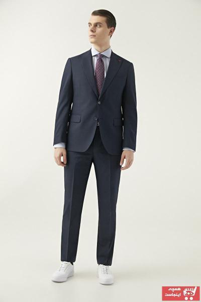 فروش پستی کت شلوار مردانه ترک برند DS Damat رنگ لاجوردی کد ty50354857