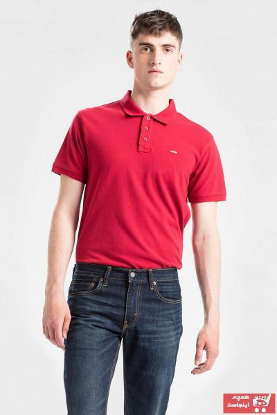 خرید تی شرت 2021 مردانه برند لیوایز رنگ قرمز ty50579553