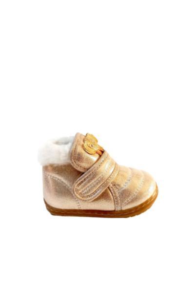 فروش بوت نوزاد دخترانه حراجی برند Tirenti رنگ طلایی ty51453622