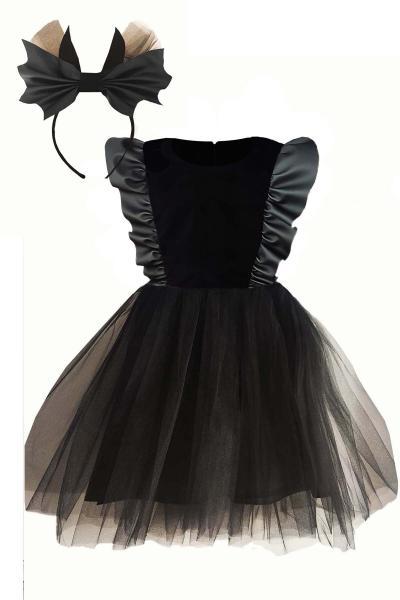 سفارش انلاین پیراهن دخترانه ساده برند Shecco Babba رنگ مشکی کد ty51579509