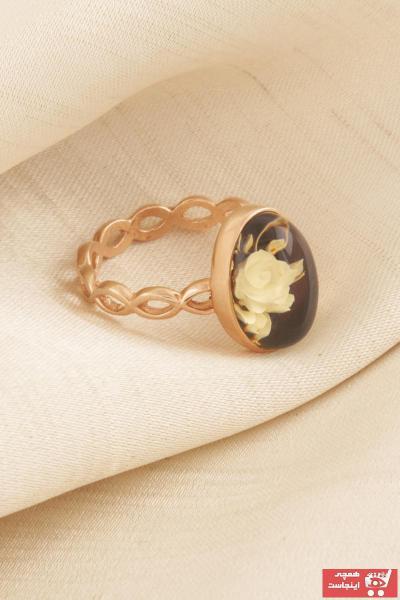 انگشتر زنانه خاص برند Takıdepo رنگ زرد ty51642306