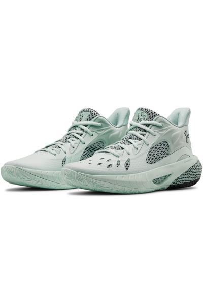 کفش بسکتبال مدل 2021 برند Under Armour رنگ نقره ای کد ty51655417