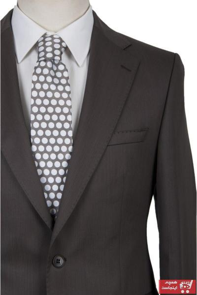 سفارش کت شلوار زمستانی مردانه برند BLU رنگ قهوه ای کد ty52263328