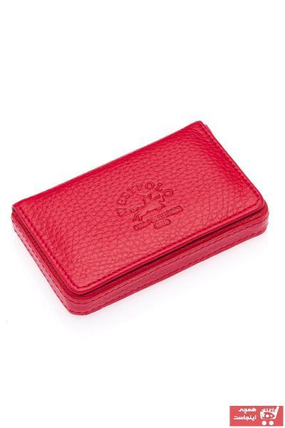 کیف کارت بانکی مردانه ترک برند Westpolo رنگ قرمز ty54705251