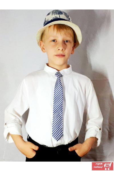 خرید نقدی کراوات بچه گانه پسرانه ترک  برند GallanD رنگ لاجوردی کد ty55128399