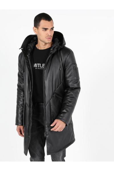 سفارش کاپشن زمستانی مردانه برند Colins رنگ مشکی کد ty55635464
