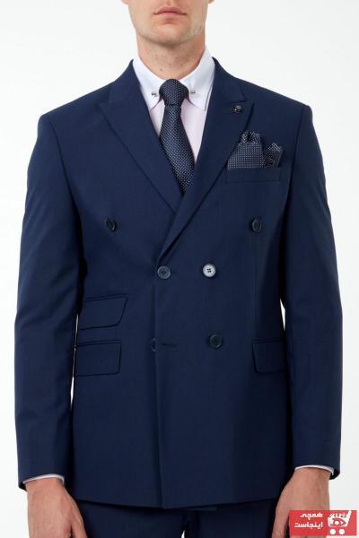 کت شلوار مردانه ترک برند Jack Martin رنگ آبی کد ty55779745