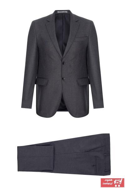 سفارش کت شلوار مردانه ارزان برند İgs رنگ نقره ای کد ty56518402