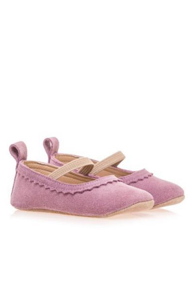 فروش اینترنتی کفش تخت نوزاد دخترانه با قیمت برند Merli&Rose رنگ بنفش کد ty56533407
