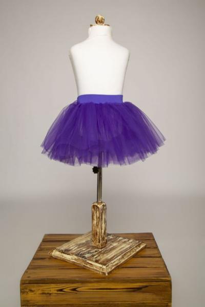 دامن دامن دخترانه برند LULLY KİDS رنگ بنفش کد ty57035370
