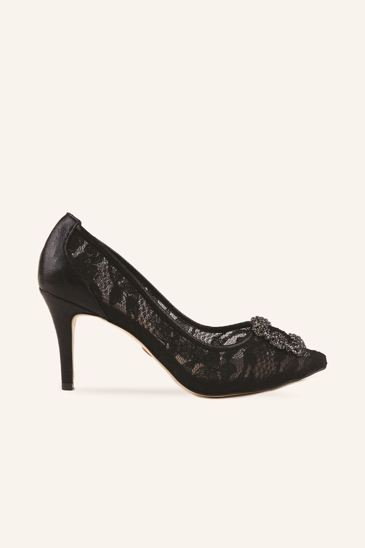 مدل کفش پاشنه بلند مجلسی 2021 برند MARCATELLI رنگ مشکی کد ty57993383