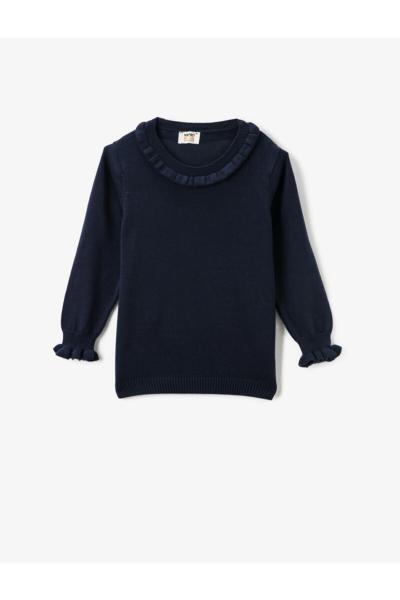 فروش پستی ست پلیور دخترانه برند کوتون رنگ لاجوردی کد ty58566386