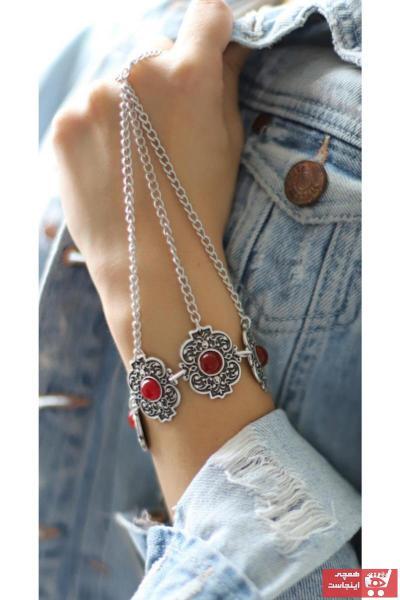 سفارش پستی دستبند انگشتی زنانه برند ZeyDor Accessories رنگ نقره ای کد ty59341930