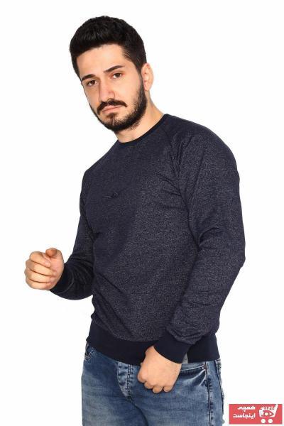 سویشرت شیک مردانه برند BESSA رنگ لاجوردی کد ty60198675