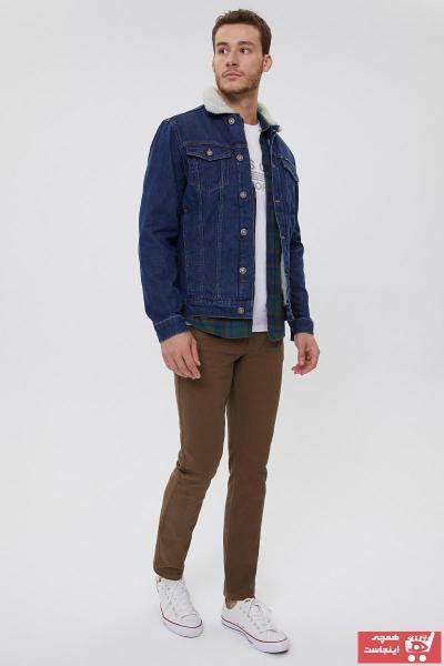 فروش انلاین ژاکت جین مردانه ارزان برند Lee Cooper رنگ لاجوردی کد ty60811403