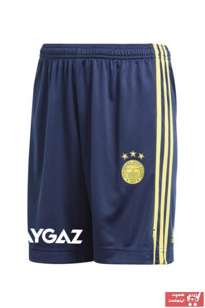 خرید نقدی شلوارک ورزشی مردانه برند Fenerbahçe رنگ لاجوردی کد ty62261310